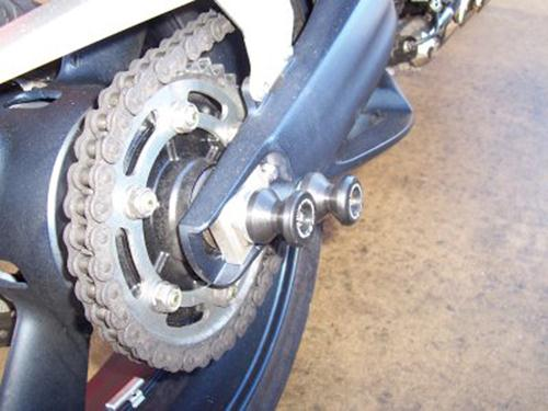 Rear Spindle Sliders, Yamaha MT-01