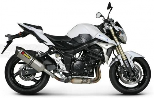 Suzuki GSR750 11-14 Akrapovic Hexagonal Exhaust