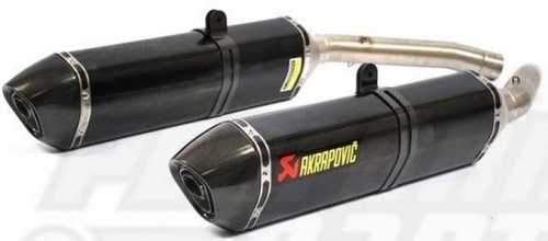 Suzuki GSX1300 R Hayabusa 08-14 Akrapovic Hexagonal Exhausts