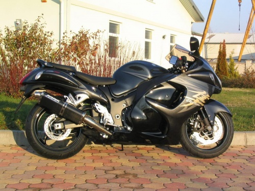 Suzuki GSX1300 R Hayabusa 2008+ Bodis Three-Tec Exhausts