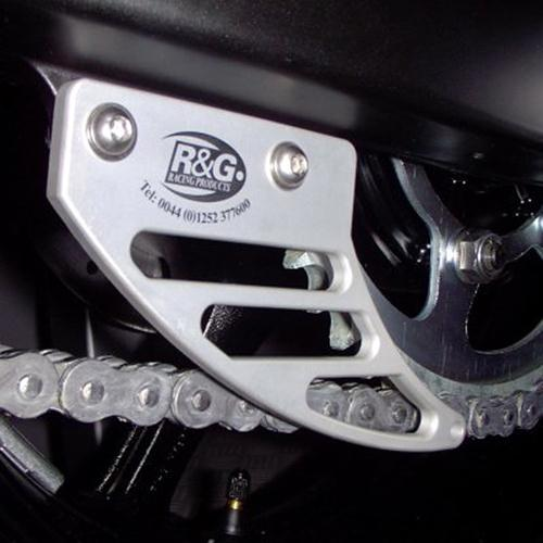 Ali toe guard, R6 '03-'05 / 675 Daytona '06-'12 / Street Triple '07-'12, silver