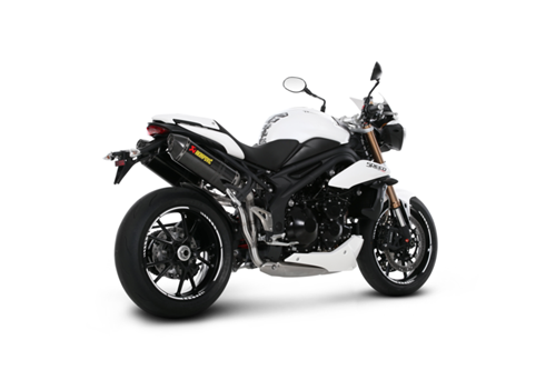 Triumph Speed Triple 1050 + R 11-16 Akrapovic Hexagonal Carbon Exhausts