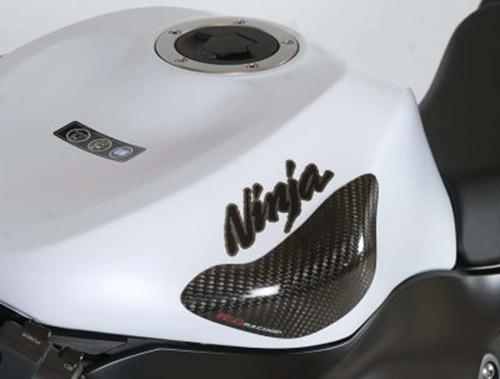 Tank Sliders, Kawasaki ZX6-R '09- / ZX10-R '08-'10 (with ''Ninja'' graphic on fuel tank)