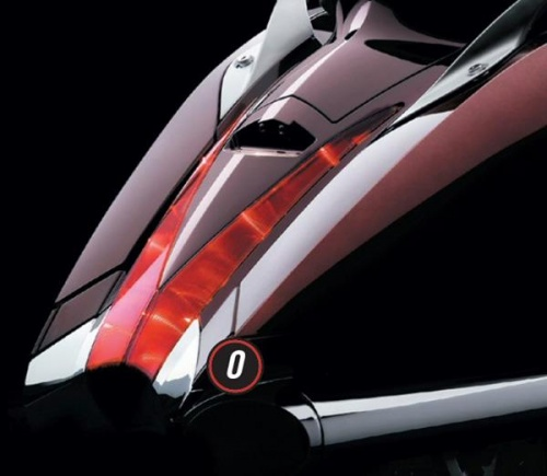 Victory Vision Chrome Rear Valence
