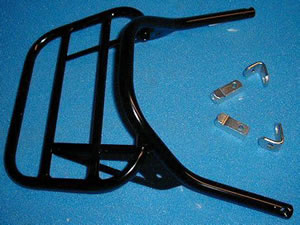 Kawasaki ZX-6R G / J / ZX636 A1P Black Renntec Rear Rack / Carrier