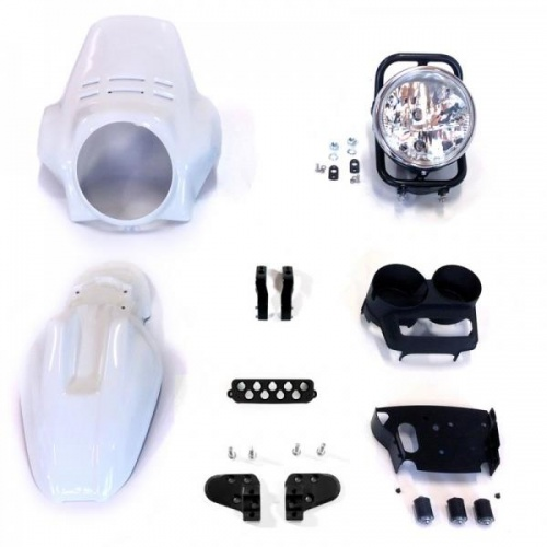 Unit Garage Kit Front Headlight PRO FENOUIL (Alpinewhite) R850R-R1100R