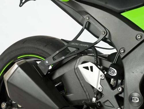 Exhaust Hanger Rear Footrest Blanking Plate Kawasaki