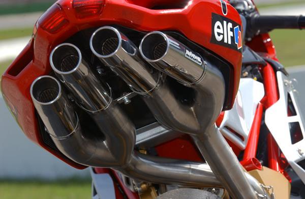 MV Agusta F4 04-09 Bodis Quattro FSR Racing Exhausts