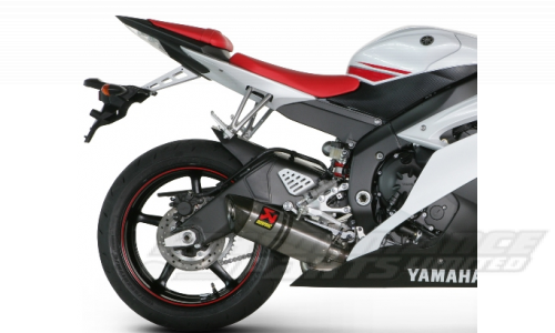 Yamaha YZF R6 08 14 Akrapovic Hexagonal Exhaust