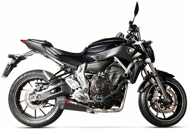 yamaha mt 07 14 16 scorpion serket taper full system. Black Bedroom Furniture Sets. Home Design Ideas