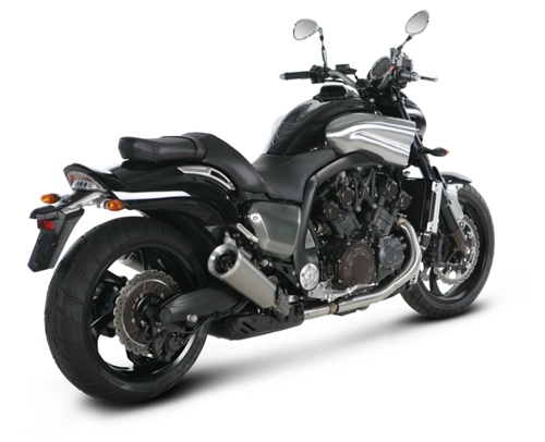 yamaha vmax 1700 09 14 akrapovic titanium round exhausts. Black Bedroom Furniture Sets. Home Design Ideas
