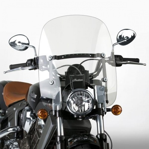 National Cycles Spartan® Quick Release Windshield