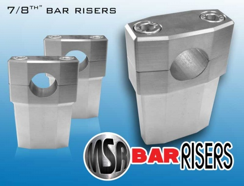 Billet 7/8'' Motorcycle Bar Risers