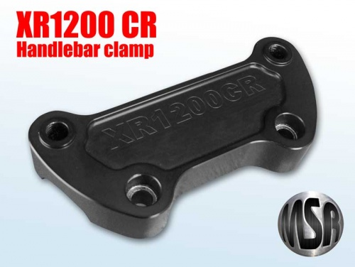 XR1200 CAFE RACE HANDLE BAR CLAMP for HARLEY DAVIDSON