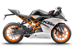 KTM RC 390 ABS 2015 - 2016 Rizoma Parts