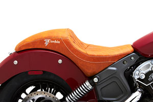 Indian Scout Brave saddle from Corbin