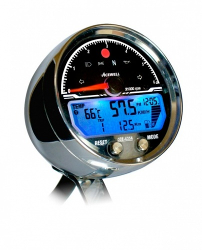 Acewell ACE-4354CP 6000RPM Speedometer