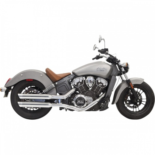 Bassani Classic Slip-On Exhaust For Scout And Scout Bobber