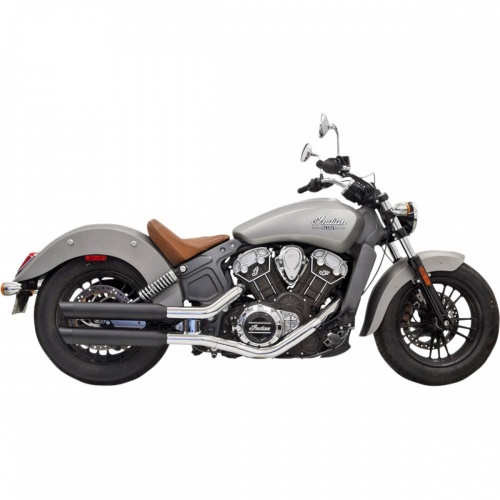 Bassani Slip-On Exhaust For Indian Scout And Scout Bobber
