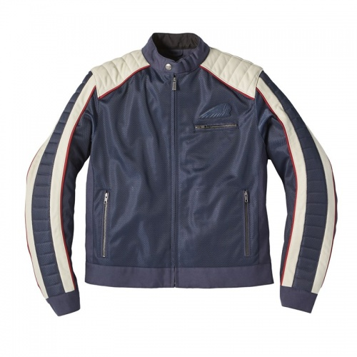 Indian Men's Mesh Arizona Jacket Blue