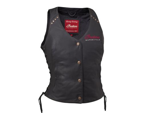 Indian Womens Motorcycle Vest 2