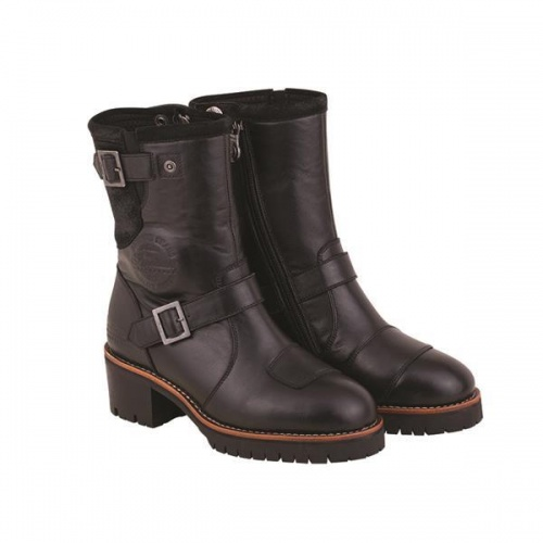 Indian Ladies Short Engineer Boot (CE Certified)