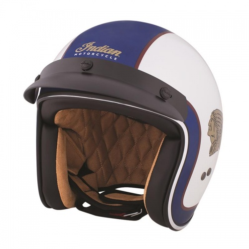 Indian Motorcycle Two Tone Open Face Scout Helmet ECE