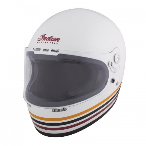Indian Motorcycle Retro Full Face ECE Helmet