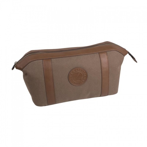 Indian Motorcycle Waxed Cotton Wash Bag