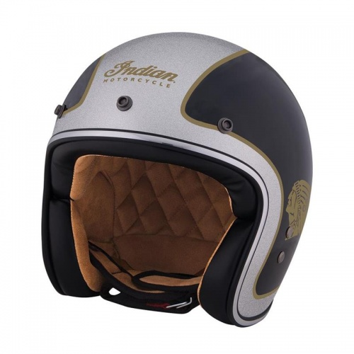 Indian Motorcycle Two Tone Open Face Helmet ECE