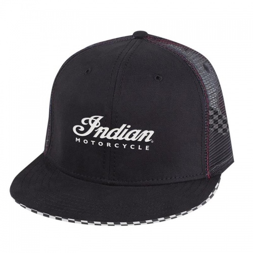307ed522 Indian Motorcycle Checkered Hat