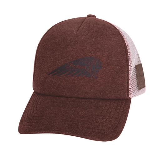 Indian Motorcycle Port Trucker Hat with Printed Headdress