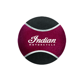 Indian Motorcycle Squeak Tennis Ball 5 Pack