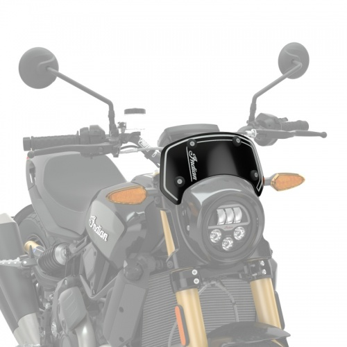 Indian FTR1200 Low Wind Deflector with Headlight Cowl Cutout