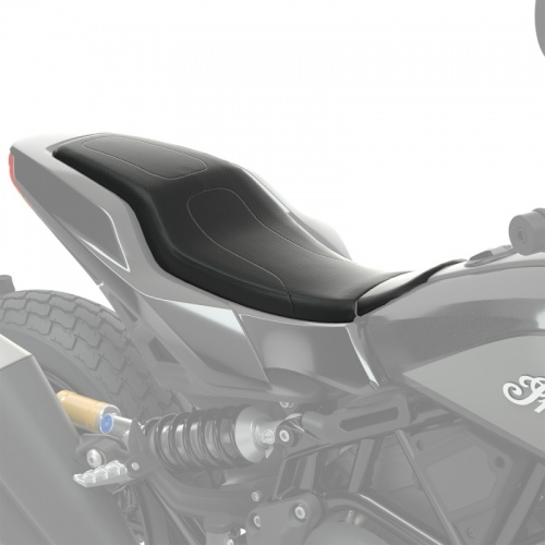 Indian FTR1200 Black Tracker Dimpled Vinyl Seat
