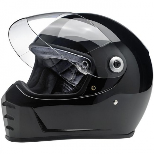 Biltwell Lane Splitter Helmet ECE - Gloss Black
