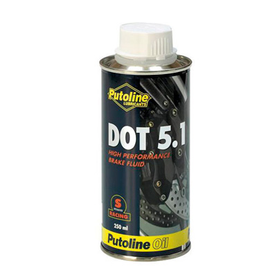 Putoline DOT 5.1 Brake Fluid 500ml