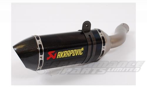 AN AKRAPOVIC EXHAUST
