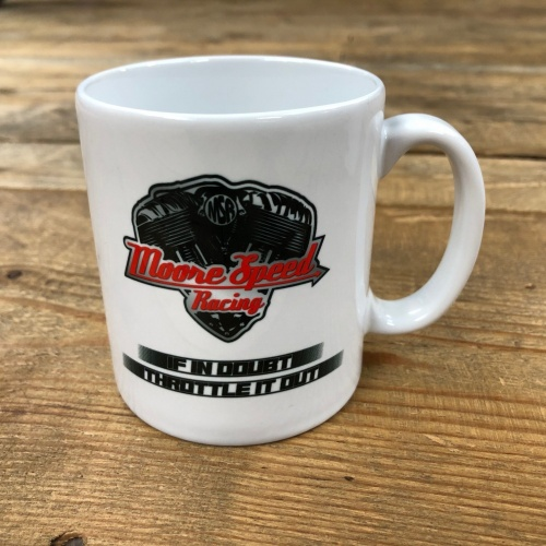 Moore Speed Racing If In Doubt Throttle It Out Mug