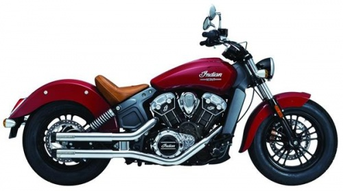 Küryakyn Crusher Maverick Slip-Ons for Indian Scout Models 2017-2020