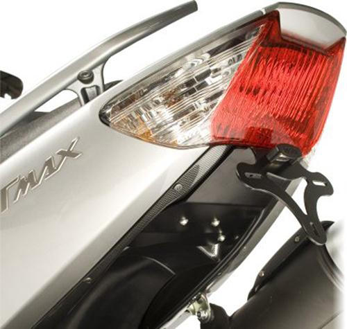 Licence Plate Holder, Yamaha T-Max '08-'11 (with carbon look underside)