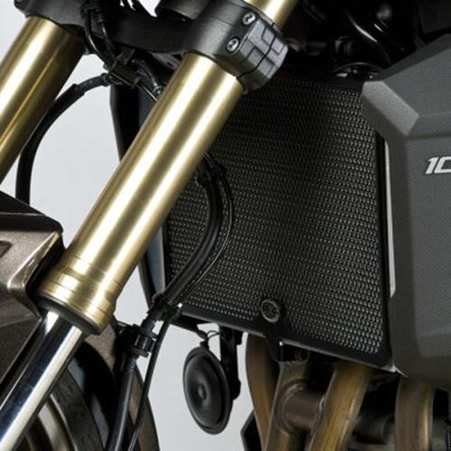 Versys 1000 Z750R Z1000 10- Z1000SX R/&G Radiator Guard for a Kawasaki Z750 07-
