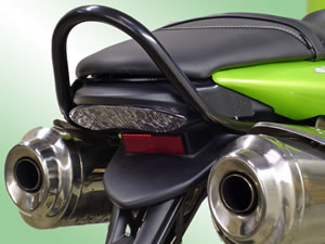 Triumph Street Triple 675 (up to 2009) Black Renntec Grab Rail