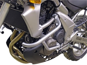 Kawasaki Versys Black Renntec Engine Crash Bars