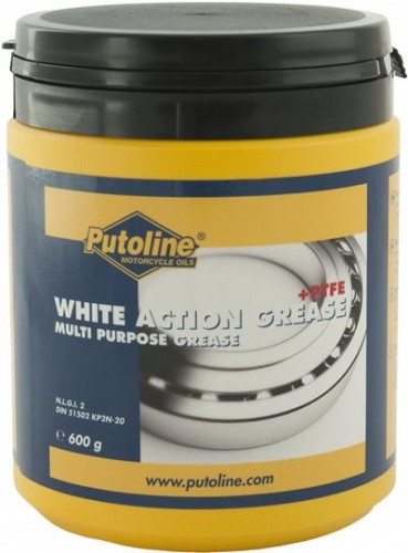 Putoline White Action Grease + PTFE - 600gms