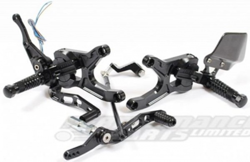 Yamaha YZF R1 07-08 Gilles VCR Adjustable Rearsets