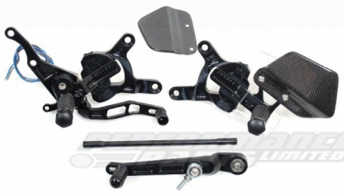 Yamaha YZF R1 09-14 Gilles VCR Adjustable Rearsets