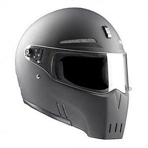 Bandit Alien 2 Motorcycle Helmet - Matt Black