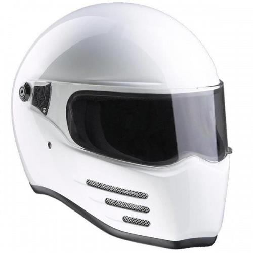 Bandit Fighter Motorcycle Helmet - White