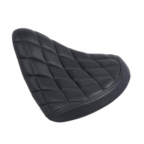Chop Bobber Seat with Diamond Stitching by Motone